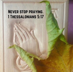 1. Thessalonians 5, 17