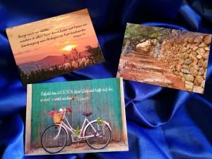 Bibelvers Postkarten 2015
