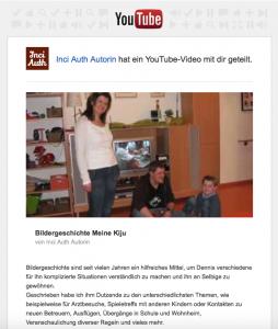 Bildergeschichten auf YouTube