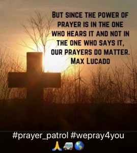 Instagram #prayer_patrol